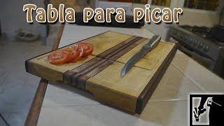 Tabla para picar alimentos (Prueba) NO tutorial