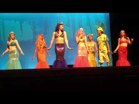She's In Love - The Little Mermaid Capuchino High School - Mersisters and Flounder