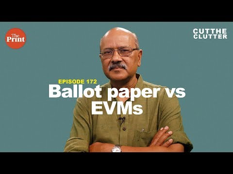 Why targeting EVMs damages the credibility of India\'s elections