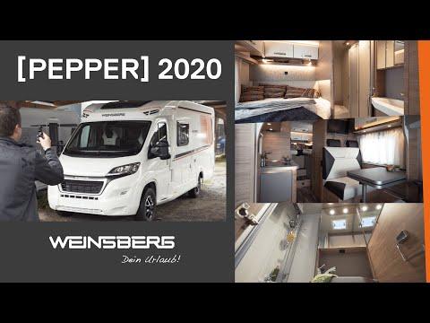 WEINSBERG [PEPPER] 2020 - Motorhome Roomtour -  The Best [PEPPER]?