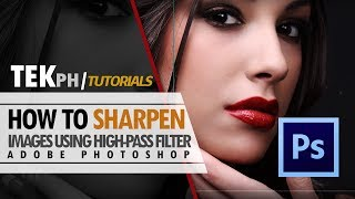 How to Sharpen Images Using High Pass Filter on Photoshop CC
