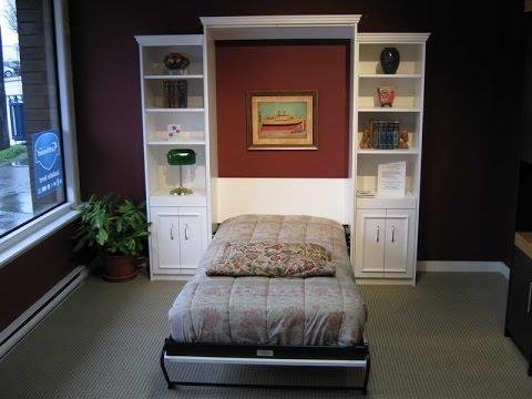 Twin Murphy Bed Ikea  YouTube