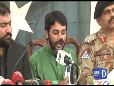 BLA Commander Surrenderd in Quetta Press Conference