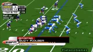NFL Thanksgiving 2012 Wk 11 - Houston Texans (9-1) vs Detroit Lions (4-6) - 2nd Half - NFL 2K5 - HD