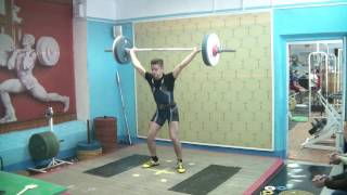 Рахматуллин Альберт, 17 лет, св 71 Рывок 80 кг