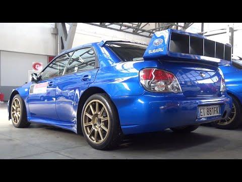 Street-Legal Subaru Impreza S12 WRC Replica In Action On Track! - RAW Boxer Sound!