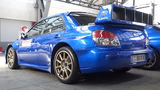 Street-Legal Subaru Impreza S12 WRC Replica in Action on Track! - RAW Boxer Sound!