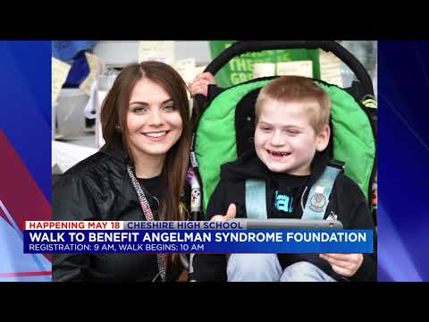 Angelman Syndrome Foundation Walk at cheshire high school