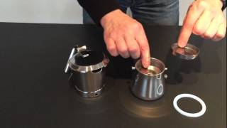 Giannini Espressokocher Giannina f. Induktion 3-6 Tassen