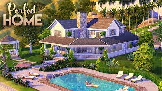 PERFECT FAMILY HOME || 4 Bdr + 3 Bth || The Sims 4: Speed Build [NO CC]