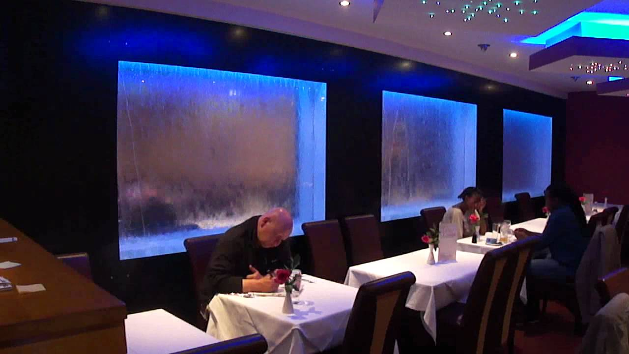 H2o Designs 3 Panel Waterfall Spice Lounge Dunstable Youtube