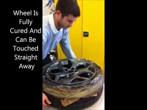 Magic Mend, Ford Focus Alloy Wheel Refurbishment, Alloy Wheel Repair Kent, Colour Change.wmv