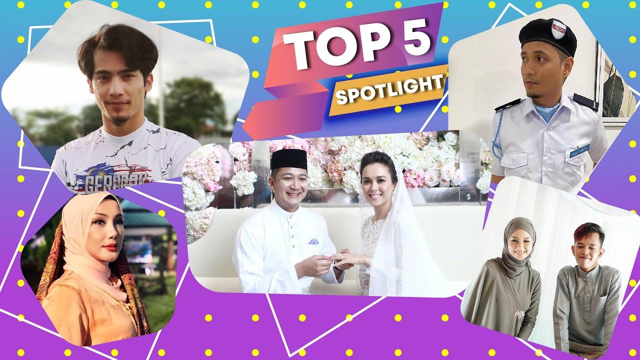 Top5 Spotlight: Kenapa tiba-tiba Siti Saleha nak bercerai? Mark Adam pula disangka jadi pak guard!