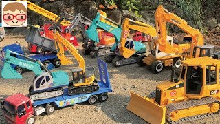 Excavator for kids | Trucks for children | Emergency Vehicle | Kids videos | Car toys |