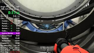 Portal 2 Inbounds World Record Speedrun in 1:01:13