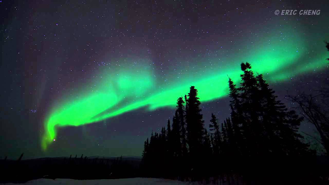 Aurora Borealis  Northern Lights in Alaska Timelapse