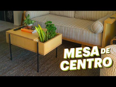 DIY - MESA DE CENTRO 3 em 1 😱 (Aprenda a Fazer)