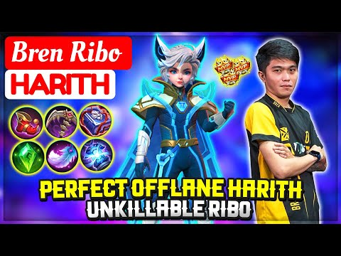 Perfect Offlane Harith, Unkillable Ribo [ Bren Ribo Harith ] Mobile Legends