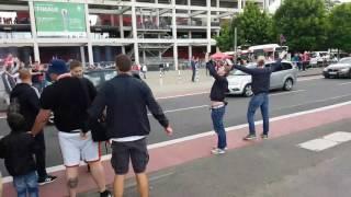 Arrival of 1.FC Köln Cologne