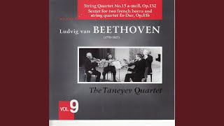 String Quartet No.15 A-Moll, Op.132 - I Assai Sostenuto - Allegro