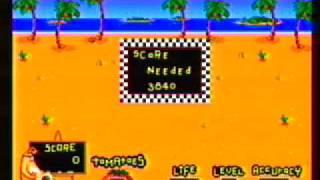 Ready, Aim, Tomatoes. Toejam and Earl Sega Menacer game.