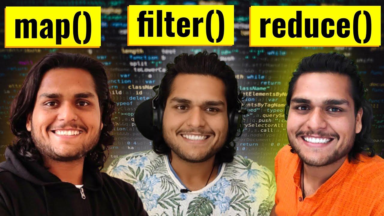map, filter & reduce 🙏 Namaste JavaScript