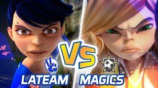 Extreme Football La team Vs Magics