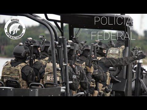 Polícia Federal  COT  GPI  NEPOM  Brazilian Federal Police