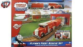 Thomas u0026 Friends Trackmaster: Fiery Flynn's Rescue Set Toy Review, Fisher-Price