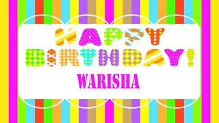 Warisha   Wishes & Mensajes - Happy Birthday