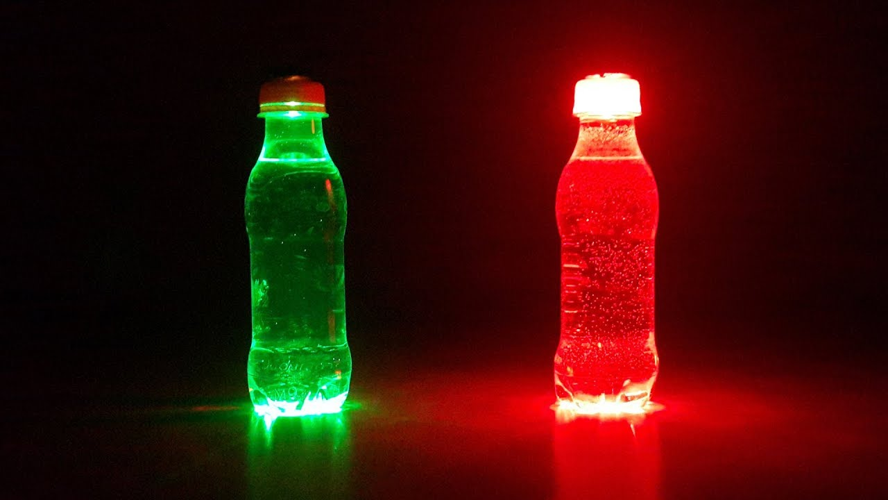 Recycled Plastic Bottle Lamp How To Make A Lighting For Plastic Bottles Waste Bottle Craft
