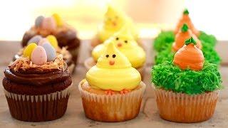 3 Small Batch Cupcakes (Carrot Cake, Flourless Chocolate & Vanilla)