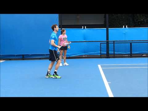 Andy Murray Practice 2015