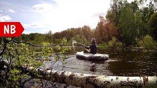 #DIY САМОДЕЛЬНАЯ надувная ЛОДКА из двух камер и парниковой пленки или брезента Лодка своими руками