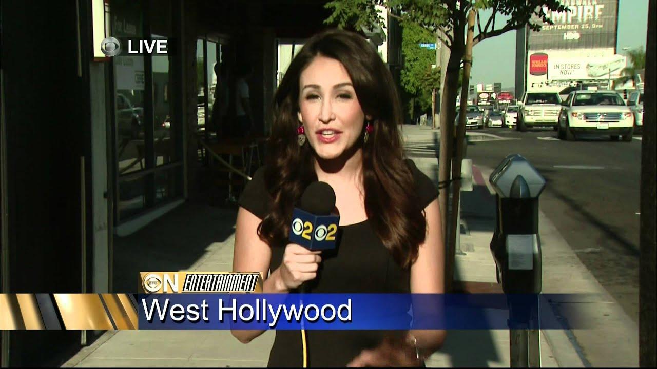 Suzanne Marques 2011/08/24 5PM CBS2 HD; Tight black top ...
