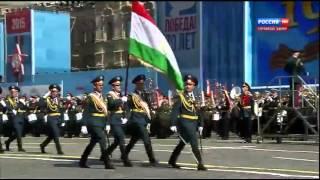 Парад Победы на Красной Площади 9 мая 2015 года (Таджикистан)