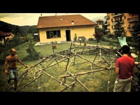 Favoloso Come costruire una cupola geodetica in 5h - YouTube EA04