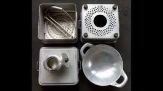 memanfaatkan barang bekas ~ Menanak Nasi Menggunakan Kompor dari kaleng softdrink