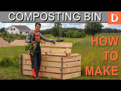 How to Make Composting Bin