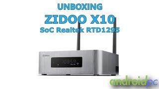 unboxing: TV-Box Zidoo X10 con SoC Realtek RD1295 y baha de 3,5