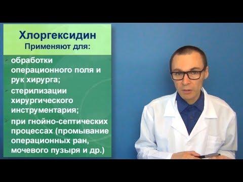 Хлоргексидин горло болит