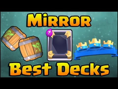 Clash Royale - Crazy Mirror Decks and Strategy
