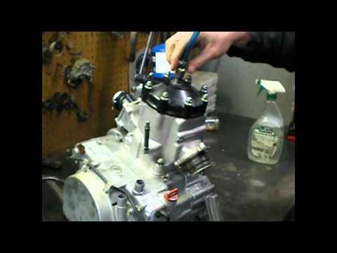 Leak Down Test For 2-Stroke Engines avi