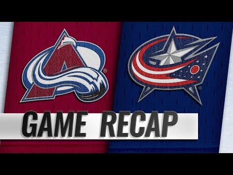 Foligno lifts Blue Jackets past Avalanche