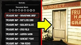 FASTEST WAY TO GET TREASURE MAPS IN RDR2 ONLINE! RED DEAD REDEMPTION 2 TREASURE MAP GUIDE!