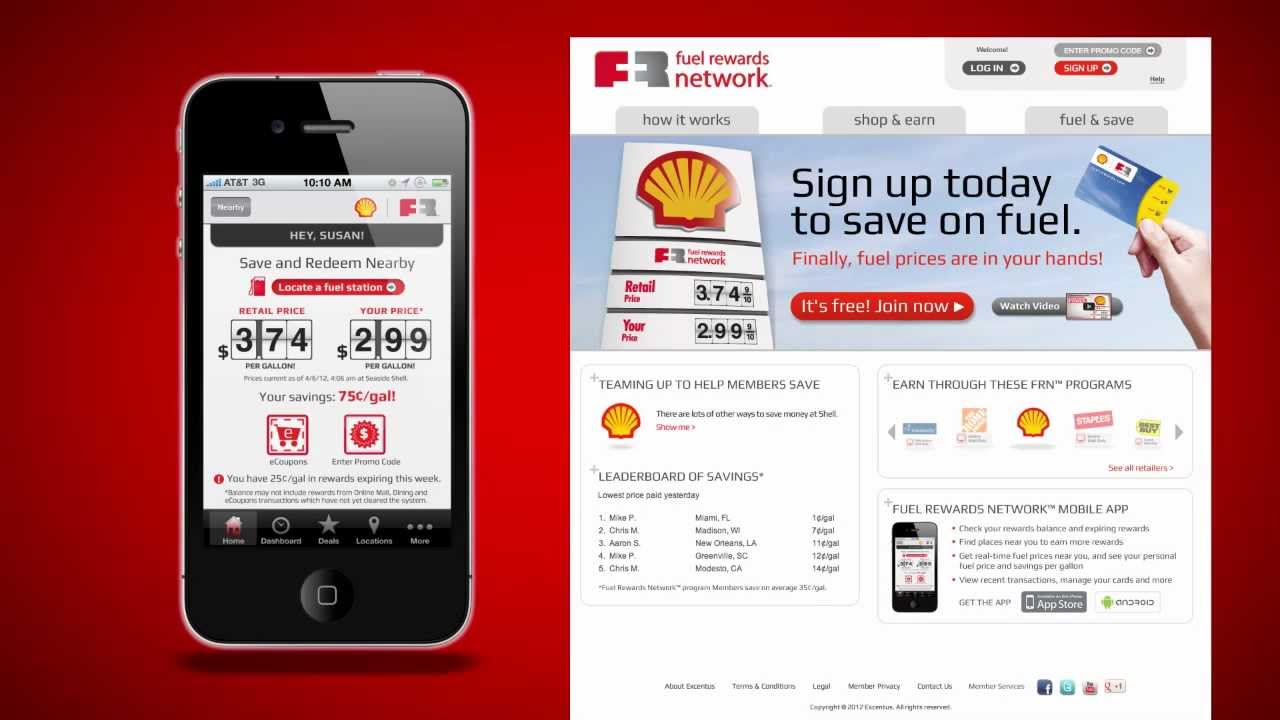 fuel rewards network how it works youtube - Shell Gas Rewards Card