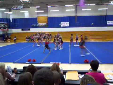 lexington middle school cheerleading