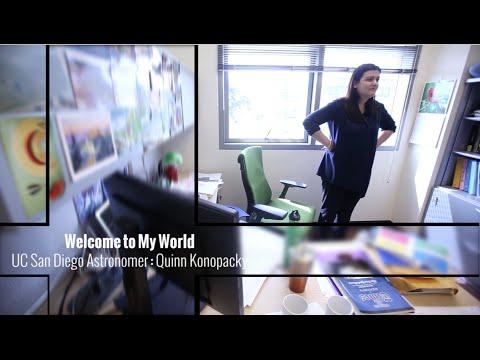 Welcome To My World: Astronomer Quinn Konopacky | San Diego Union-Tribune
