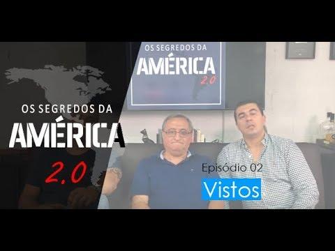 """Nova série """"Os Segredos da América 2.0"""" Episódio 2/15 """"Vistos"""""""