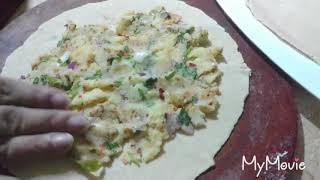 Aaloo k parathe Sunday special recipe
